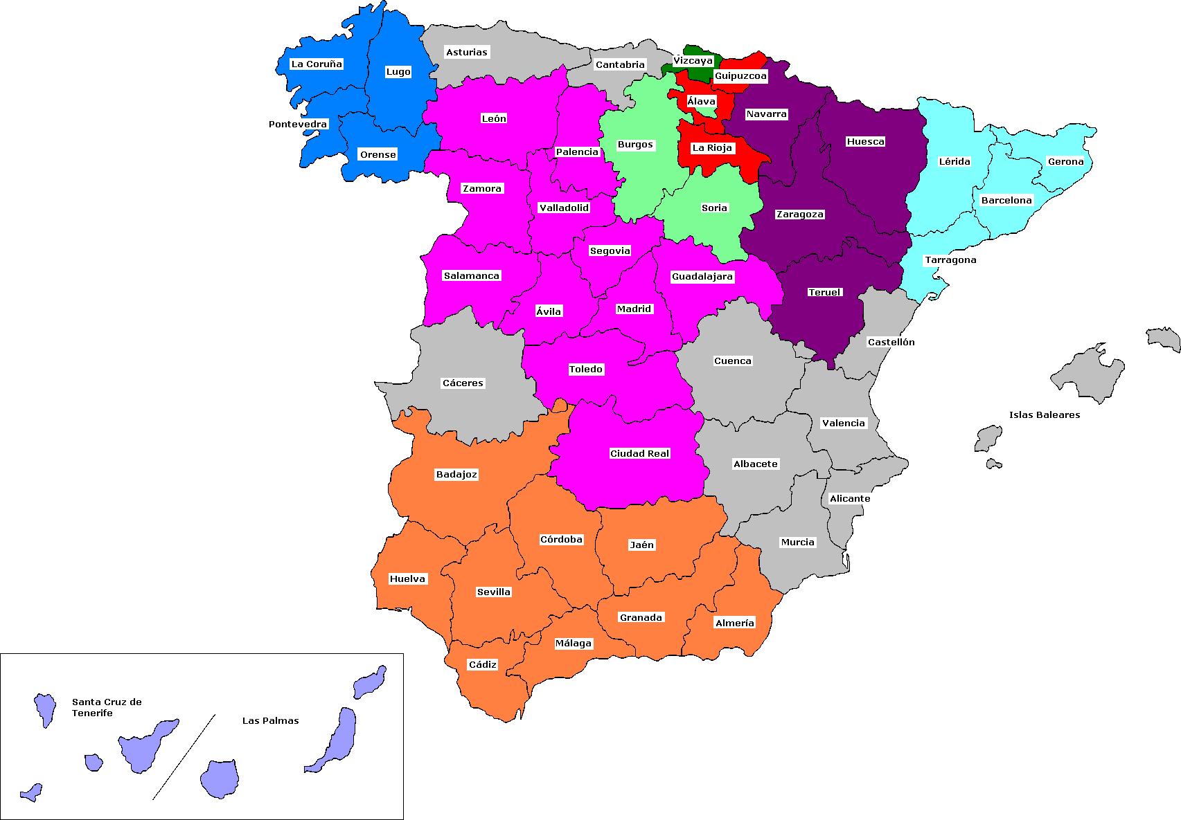 Provinces_of_Spain